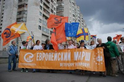 """Итоги """"Европейского марша-2012"""" в Петербурге"""