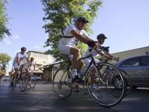 Лето - пора экологических велопробегов