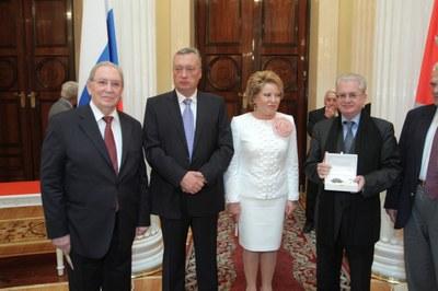 Михаил Пиотровский и Анатолий Гранов – Почетные граждане Санкт-Петербурга