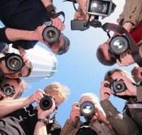 "Начало акции ""Прогулка с фотоаппаратами"""