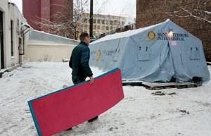В Петербурге переполнены пункты обогрева для бездомных