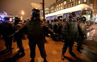 Задержания в Петербурге 31 января 2012