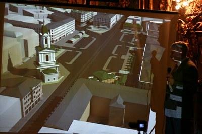 Фото: планы реконструкции Сенной площади