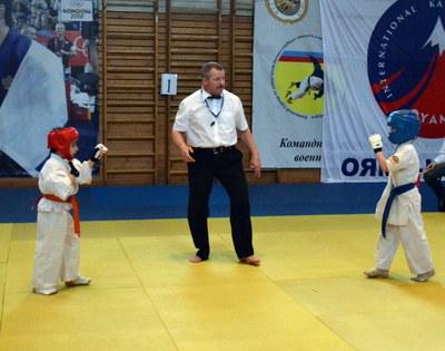 Первенство по нокдаун-каратэ состоялось в Петербурге