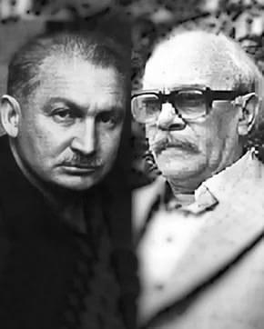Борис Слуцкий и Давид Самойлов