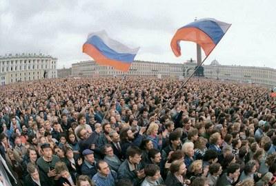 Владимир Беляков об августе 1991 как вершине демократии