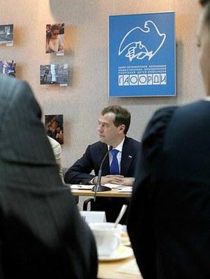 Медведев оказался «в теме»
