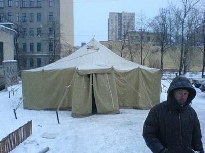 Пережить зиму: на Боровой открылся Пункт Обогрева