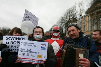 Петербург вновь выступил за честные выборы