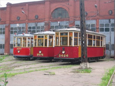 Трамвайный парк. Следующая остановка «Телефабрика»