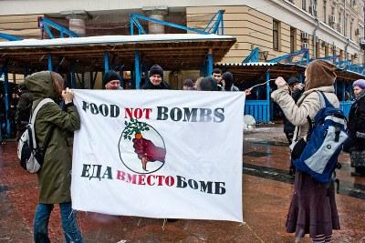 """Еда вместо бомб"" против Олимпиады"
