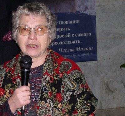 Гражданская панихида по Наталье Горбаневской в Петербурге