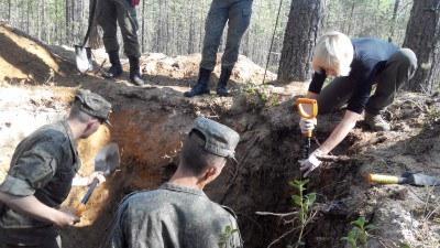 В Финляндии узнали о повторных раскопках РВИО в Сандормохе