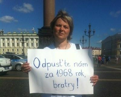Петербуржцы попросили прощения у чехов