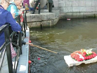"""""""Мемориал"""" 27-й раз проводит акцию поминовения на набережной Робеспьера"""