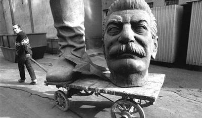 Памятникам Сталину нет места в нашей стране