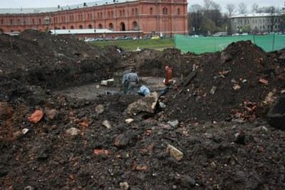 Раскопки 2013 в Петропавловке: первые итоги