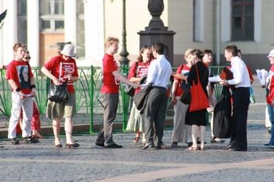 О встрече Дэниэла Беира и гражданских активистов в Петербурге