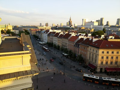 В варшавском Архиве новых актов разрешается фотографировать документы...