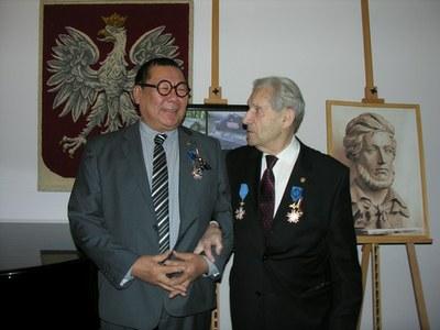 Два петербургских скульптора награждены польскими орденами