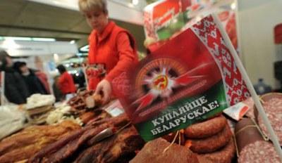 Поиски польских товаров на белорусской границе