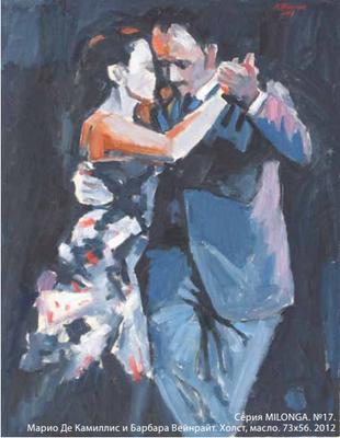 Выставка Николая Тёплого «Из серии MILONGA»