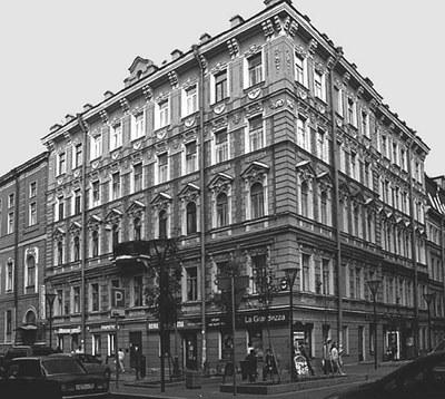Первый адрес Виткация в Петербурге