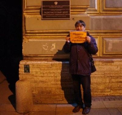 """Один журналист опротестовал отзыв регистрации у """"Росбалта"""""""