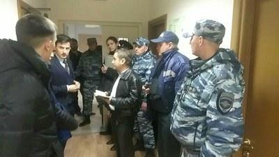 """Оперативно-розыскные мероприятия в офисах """"Открытой России"""""""
