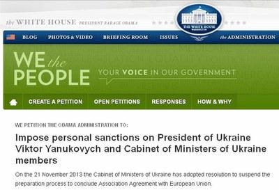 В США просят о введении персональных санкций против Путина