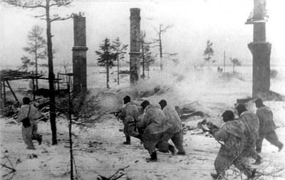 Финны в битве за Ленинград