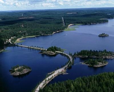 Национальные парки Финляндии в презетации сотрудников Metsähallitus