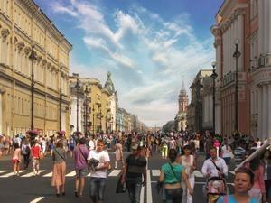 Невский не будет пешеходным по выходным