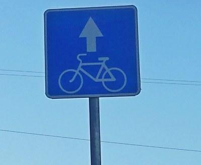 Велосипедные дорожки на Фонтанке