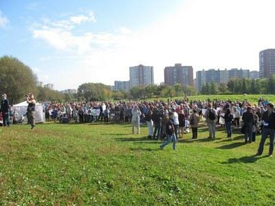 Защитники Малиновки вновь выходят на митинг
