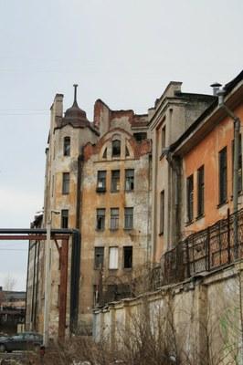 Дом Лялевича в беде