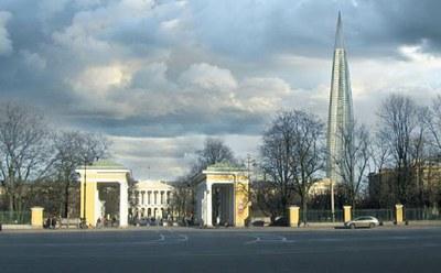 Охто-вавилонская башня - символ отречения от российской истории