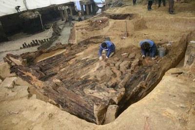 На Ниеншанце продолжается заливка свай: Письмо академиков в защиту археологических памятников