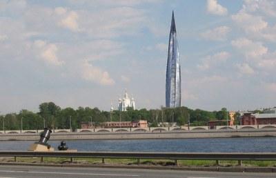 Сбор подписей против строительства Охта-Центра